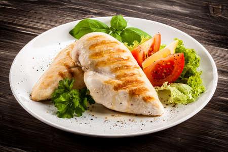 breast: Grilled chicken fillets