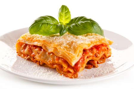 Lasagna Banque d'images