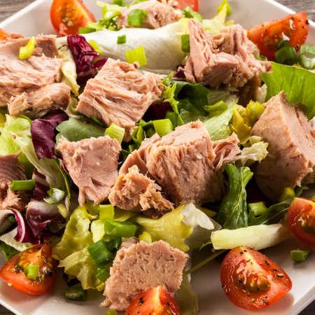 caprese salad: tuna salad
