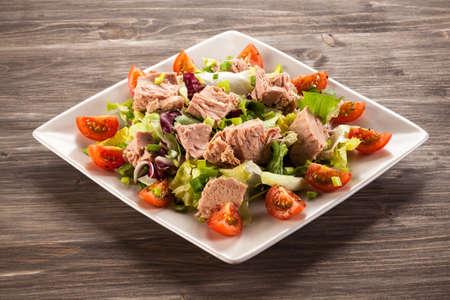 Salade de thon Banque d'images - 62019668