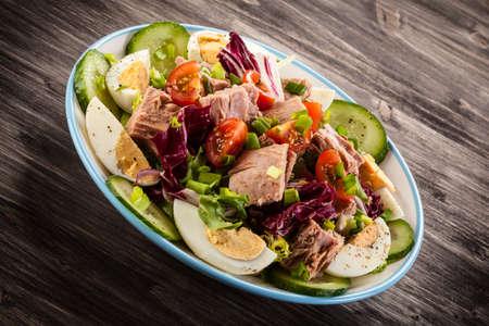 tonijnsalade Stockfoto