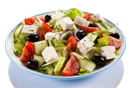 caprese salad: greek salad
