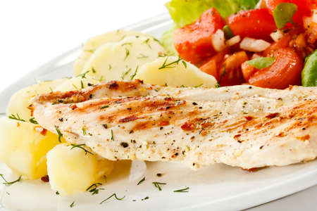 fillets: Grille chicken fillet