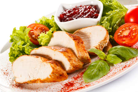 fillets: Grilled chicken fillet