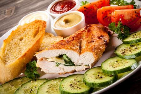 chicken fillet: Roasted chicken fillet