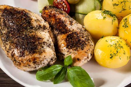 chicken fillet: Grilled chicken fillet