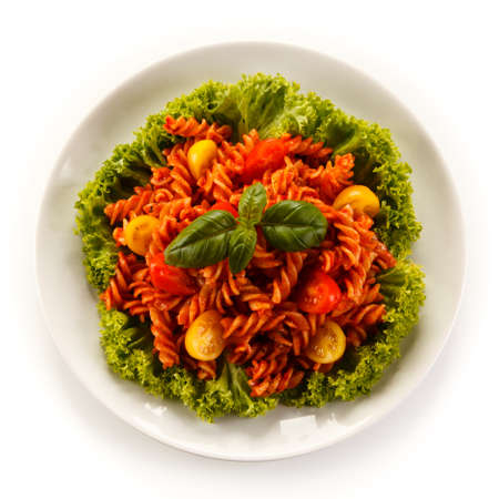 rustical: Pasta with tomato sauce