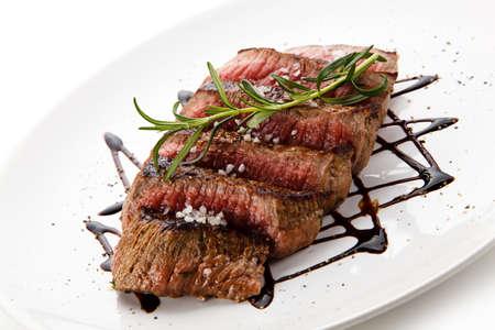 fillet steak: Roast steak - fillet mignon Stock Photo