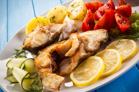 Fish dish - fried cod