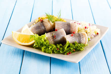 Marinated herring