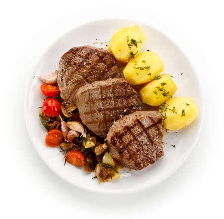 roast steak Stock Photo