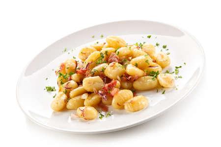 diet dinner: gnocchi