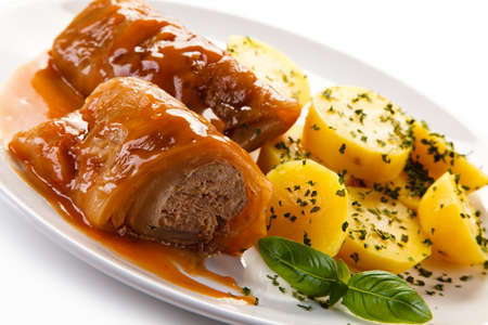 Wrapped meat - polish cabbage dish