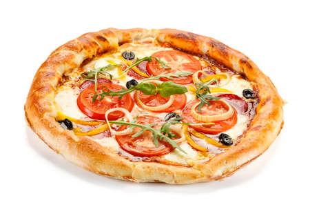 champignons: pizza margherita
