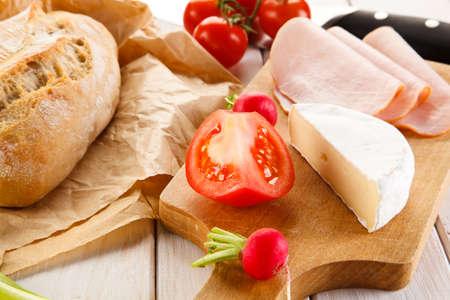 sanwich: breakfast Stock Photo