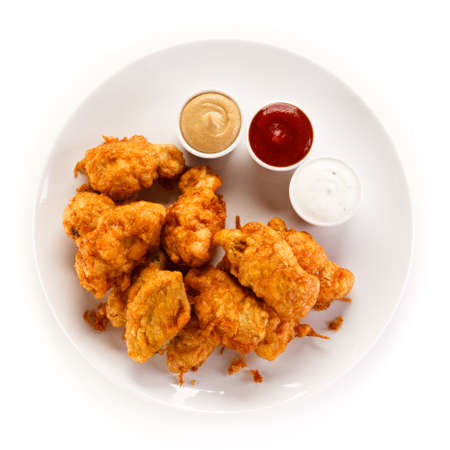Pepite di pollo fritto
