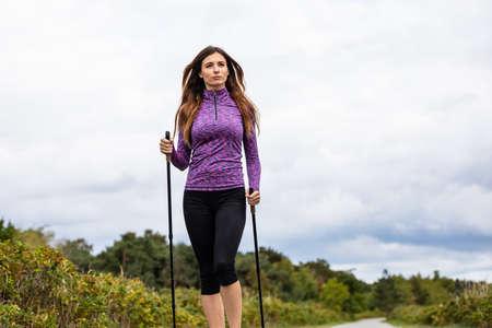 Nordic Walking - Training für junge Frauen