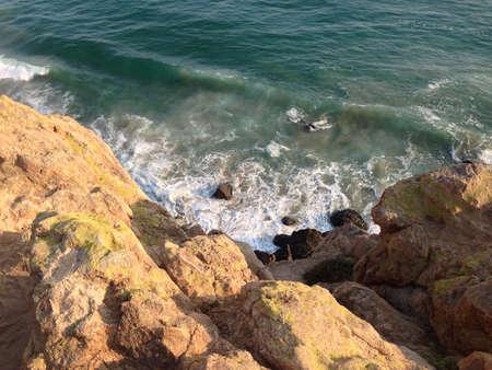 malibu: Rocks at Malibu beach