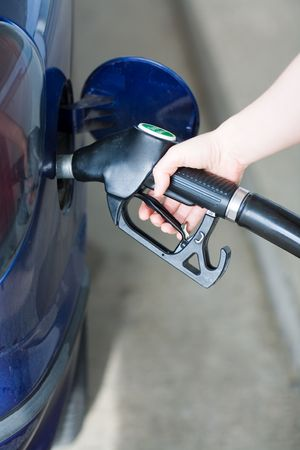 Situation: Gas up. Refuel your car. Pay the high prices for fuel...