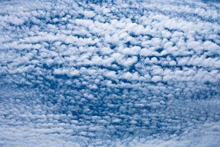 altocumulus: Sky full of Altocumulus clouds Stock Photo
