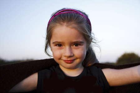 Young happy girl Stock Photo