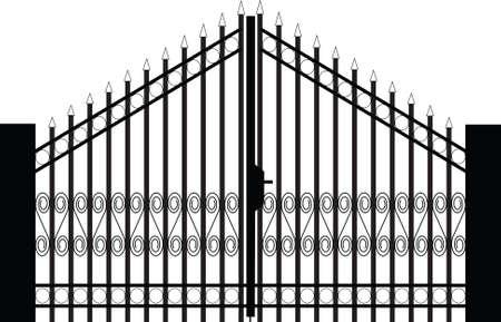 maison de maitre: silhouette porte