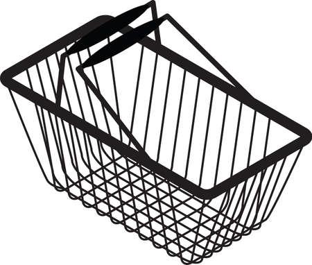 shopping bag silhouette