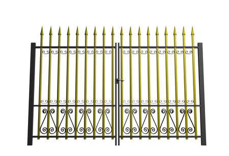 3d golden gate photo