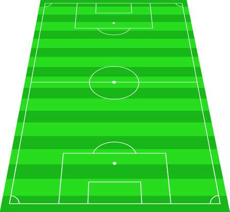 touchline: soccer terrain
