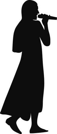 musically: cantante donna con il microfono