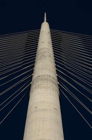 pylon of bridge photo