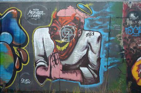 graffiti Redaktionell