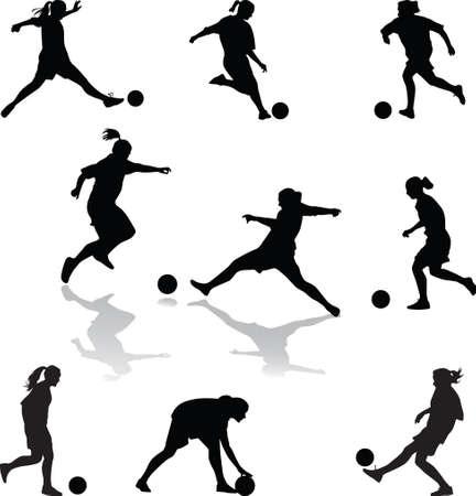 fmale: fmale football player