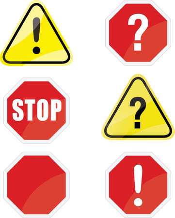 traffic signs Stock Vector - 28069503