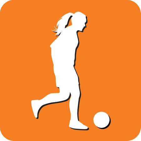 woman soccer player
