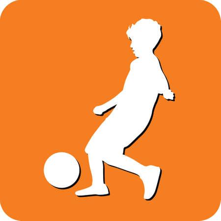kid playing: kid playing soccer