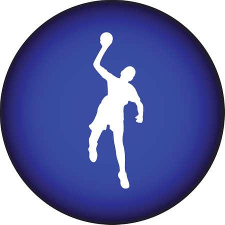 sports team: handball Illustration
