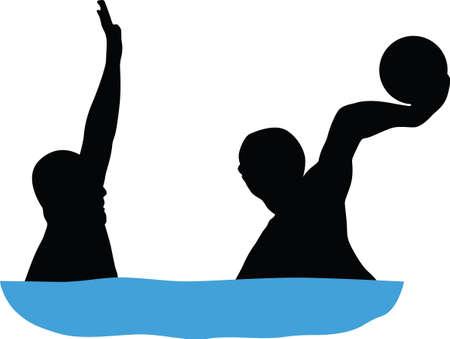 waterpolo: jugador de waterpolo