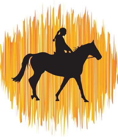 jockey: jockey riding a horse