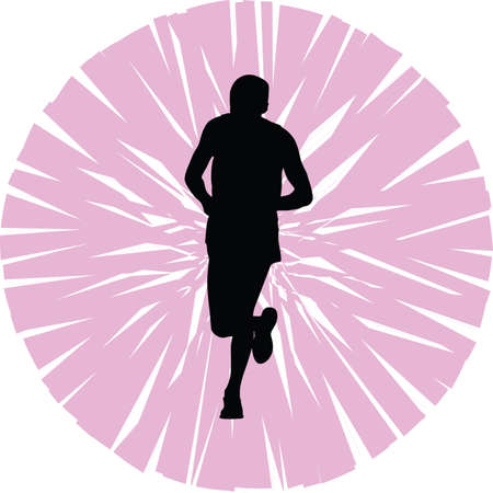 group fitness: runner