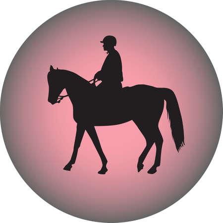 policeman riding a horse