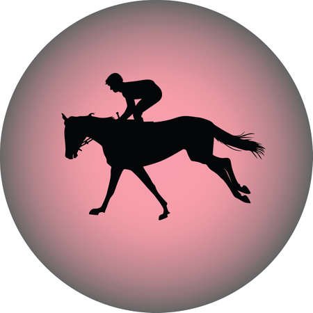 hippodrome: jockey riding a horse