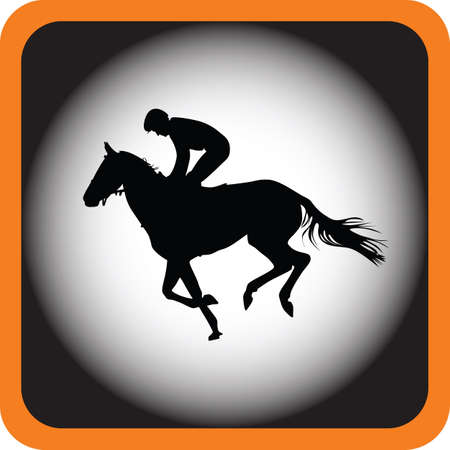 hippodrome: jockey riding a horse