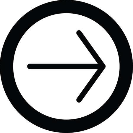 left arrow web icon Иллюстрация