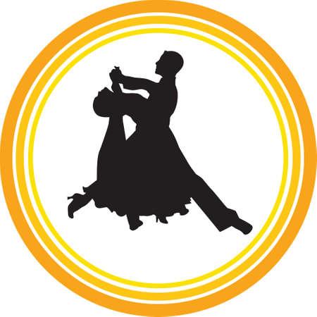 Tanz Menschen Silhouette Vektor
