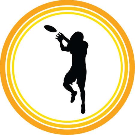 football player Ilustração