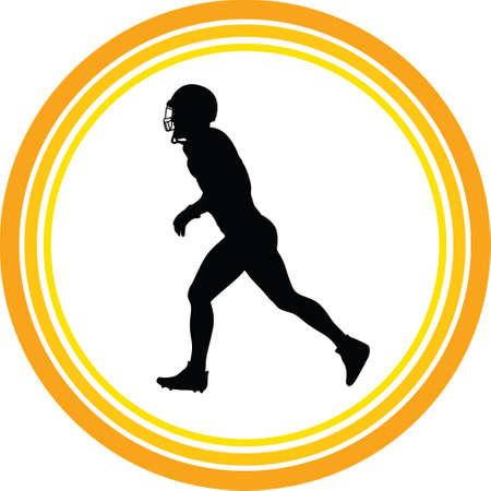 football player Illustration