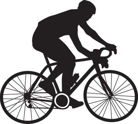 bicyclist Ilustracje wektorowe