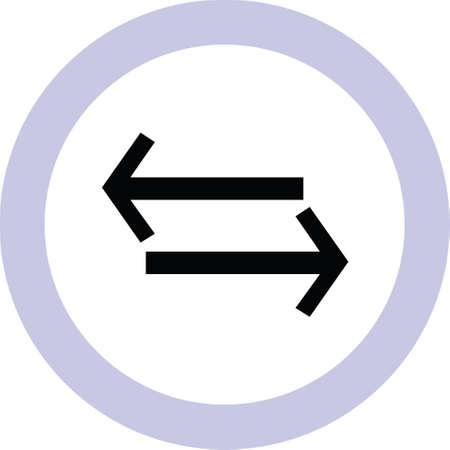 arrow opposite direction