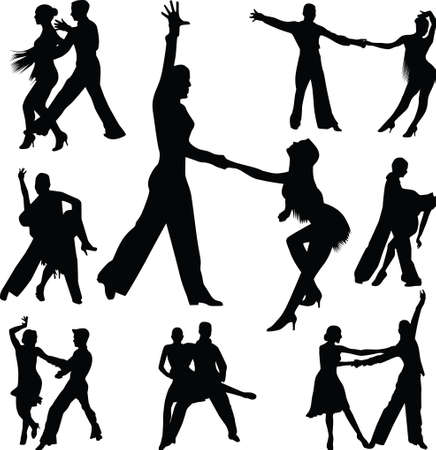 group of dance people as a couple